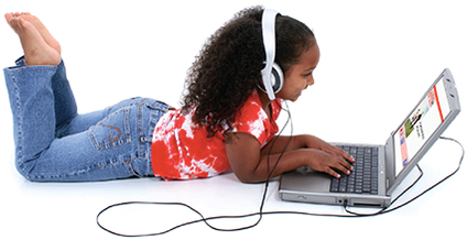 Child on Laptop Computer